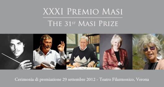 XXXI edition of Masi Award: awarded to the winners 2012