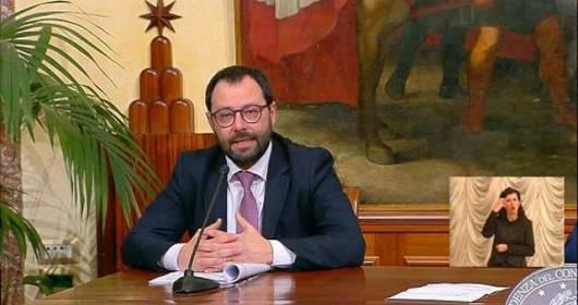CORONAVIRUS VINARIUS CRISIS WRITES TO THE MINISTER OF ECONOMIC DEVELOPMENT STEFANO PATUANELLI