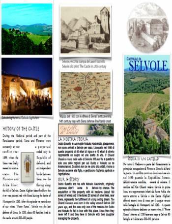 catalogo-Castello di Selvole Chianti Classico and ITG Toscana wine catalog