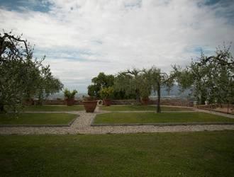 Il giardino della Fattoria di Montechiari