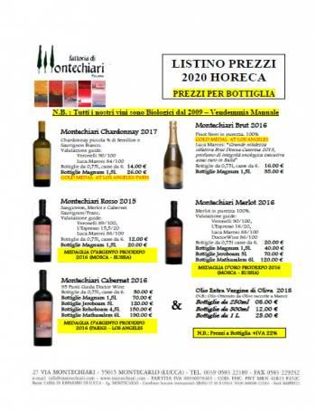 catalogo-Wines catalog of the Fattoria di Montechiari