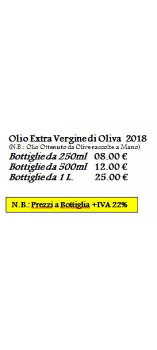Extra Virgin Olive Oil 2018 Fattoria di Montechiari