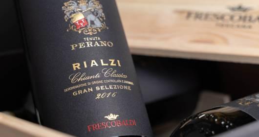 FRESCOBALDI The 2016 vintage of PERANO RIALZI Chianti Classico Gran Selezione DOCG is out