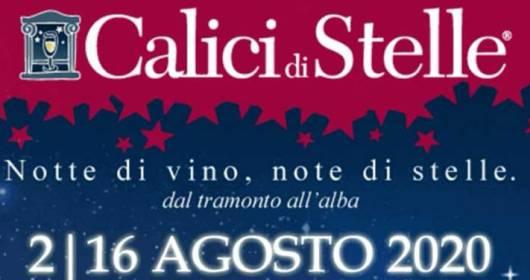 Calici di Stelle 2020 in Puglia 8-10 August in the participating wineries