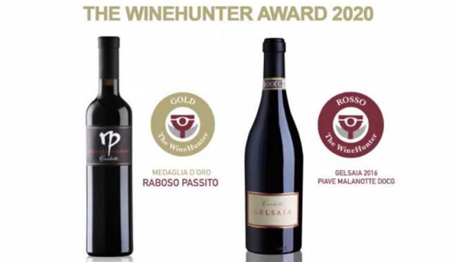 THE WINEHUNTER AWARD AWARDS THE RABOSO DEL PIAVE DI CECCHETTO
