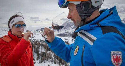 ALTA BADIA BORN SKI WINE AMBASSADOR TO BRING THE WINE CULTURE TO HEIGHT