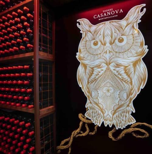 Legendary Tuscany Podere Casanova di Montepulciano Precious wines to embellish party tables