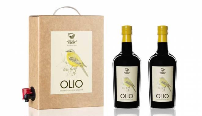 Antonella Corda in the new oil the flavor of Sardinia