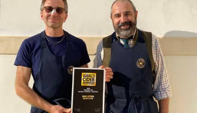World Cider Awards 2021: Sidro Vittoria wins gold with Italian Bloom