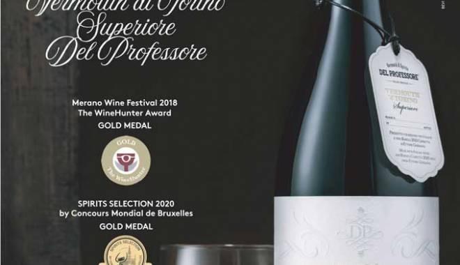 Prestigious international awards for Vermouth di Torino Superiore al Barolo Del Professore