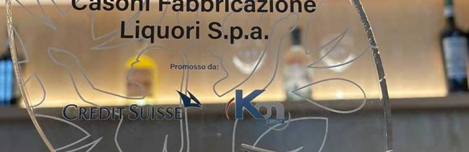 Casoni Fabbrificazione Liquori awarded with the Sustainability Award 2021 for the Environment category